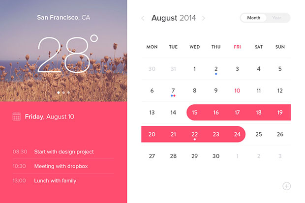 Calendar-Window-UI-Psd