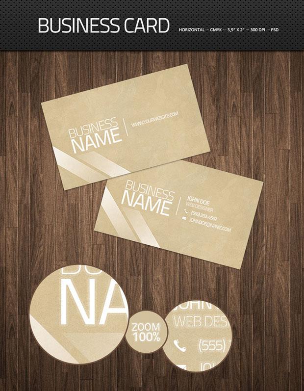 Clean-Business-Card-PSD