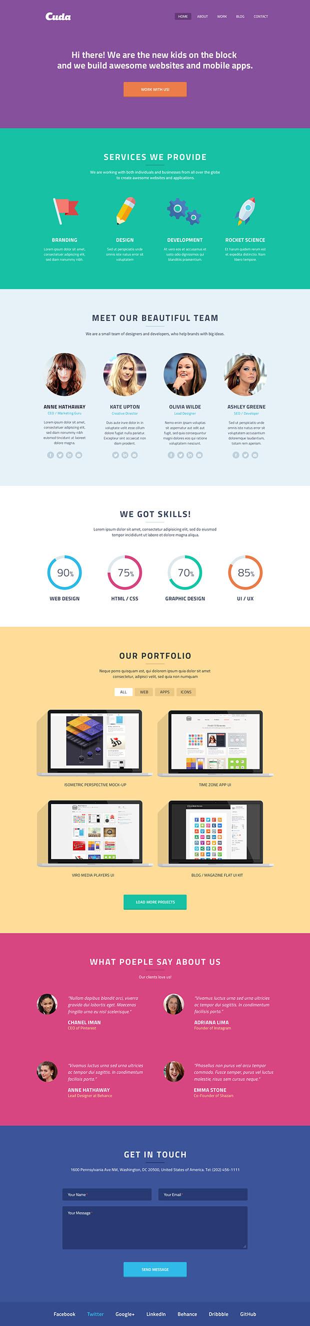 Cuda-Single-Page-Portfolio-full
