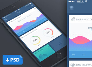 Dashboard-app-Freebie