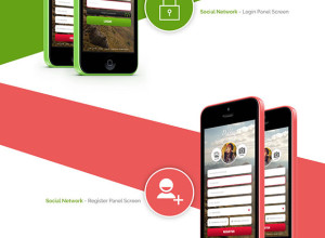 Deblue-Social-Network-Application-Design