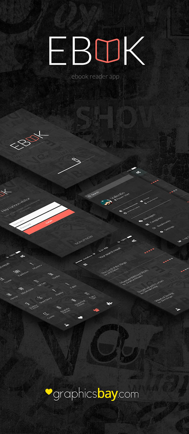 Ebook-Reader-App-Design