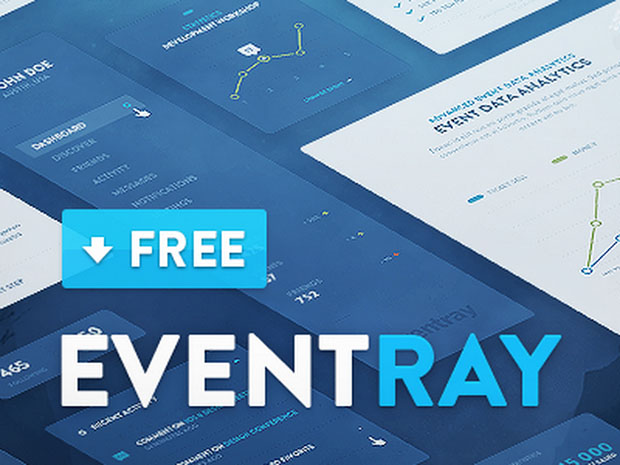 EventRay-UI-KIT-Free-Download