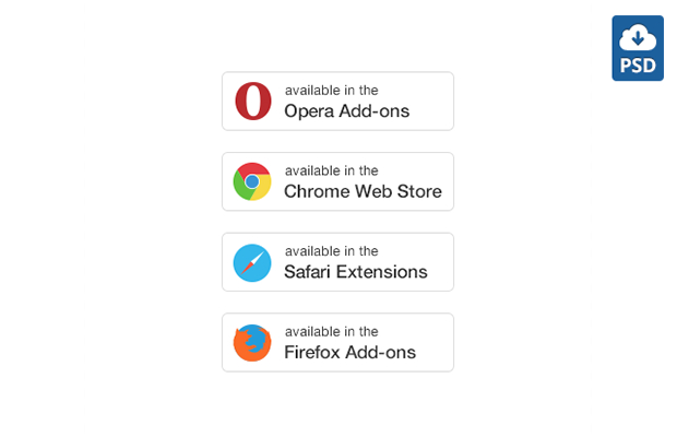 Extensions-Buttons-Free-PSD