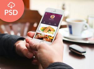 FREE-PSD-Flat-Mobile-App-UI