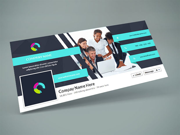 Facebook-Cover-PSD-Design-Template