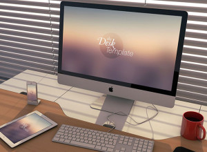Five-The-Desk-Template-PSD