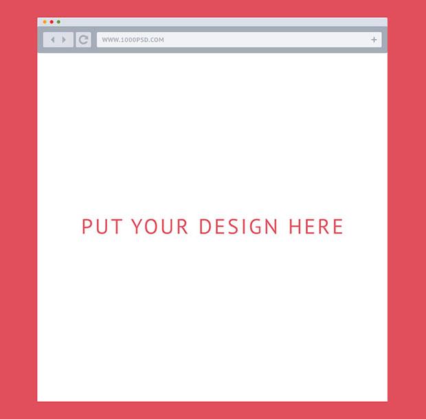 Flat-Browser-For-Mockups