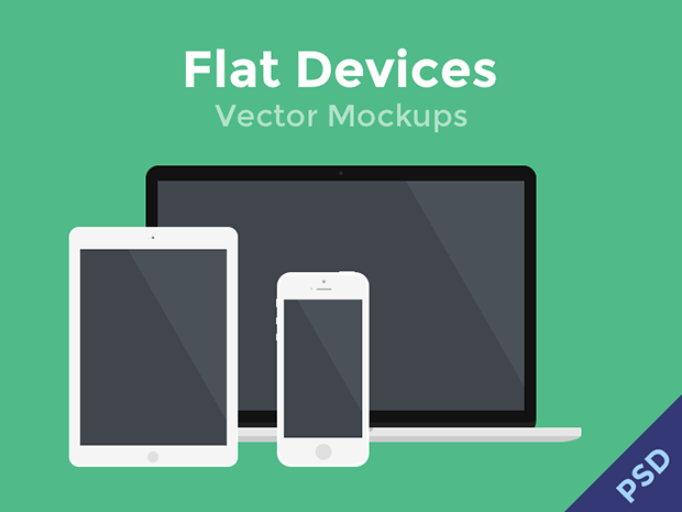 Flat-Devices-Vector-PSD-Mockups
