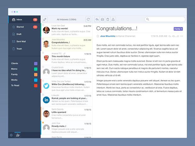 Flat-Mail-App