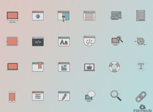 Free-24-Web-Design-Icon-Set