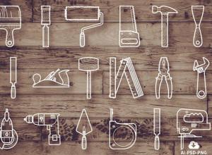 Free-25-Tool-Icon-Set