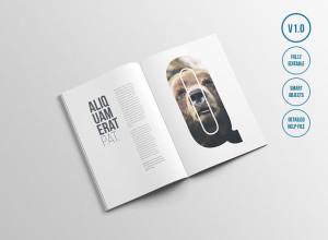 Free-A4-Magazine-Mockups