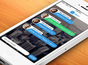 Free-Chat-App-PSD