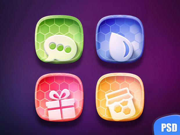 Free-Colorful-Icon-set-PSD