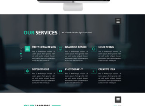 Free-Creative-Agency-Web-Design-PSD