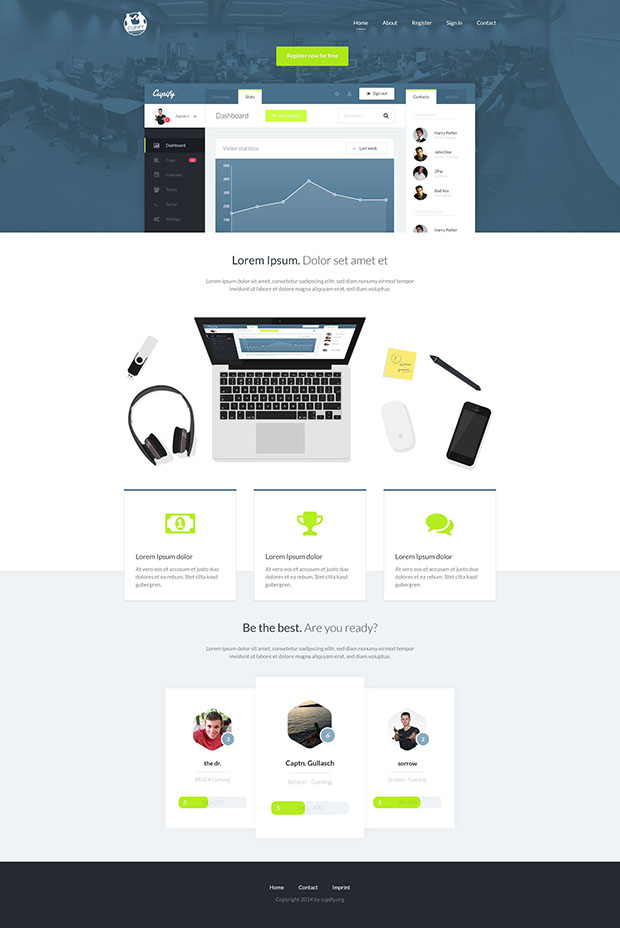 Free-Cupify-Homepage-PSD