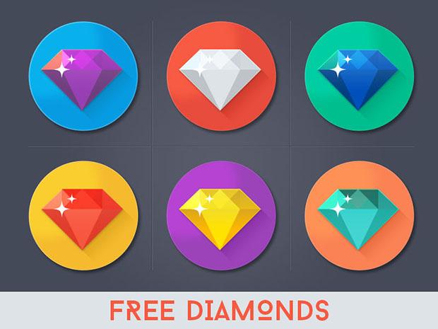Free-Diamond-Icons