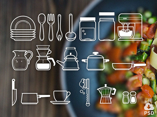 Free-Icon-Set-Cutlery-Icons