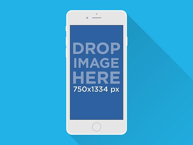 Free-Illustrated-iPhone-6-Mockup