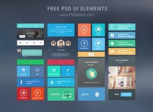 Free-Modern-UI-Kit-Elements