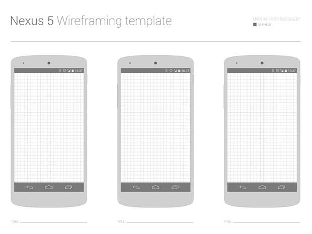 Free-Nexus-5-Wireframing-template