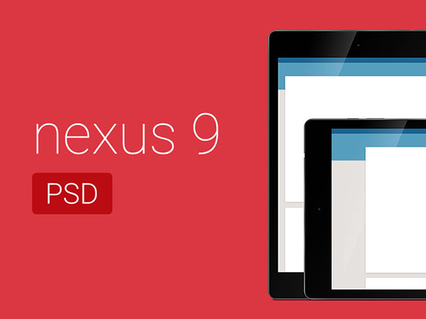 Free-Nexus-9-PSD