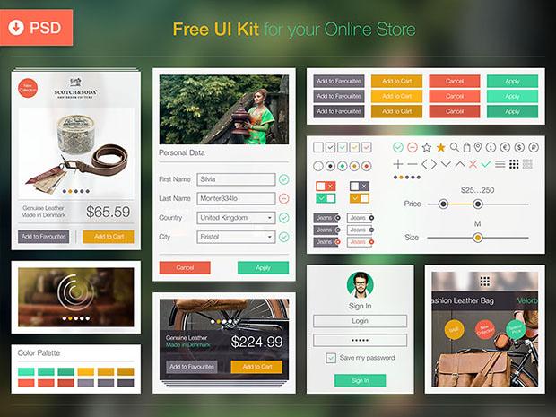 Free-Online-Store-UI-Kit