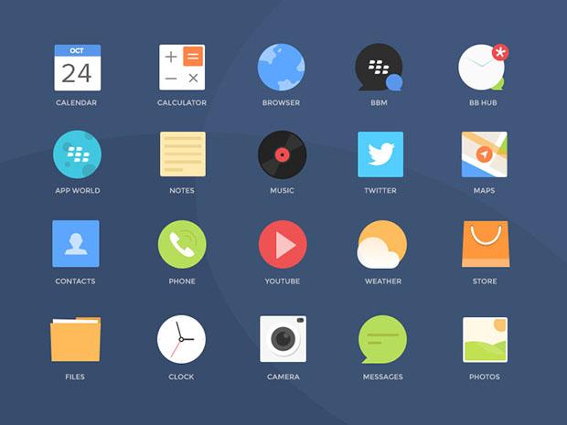 Free-PSD-Blackberry-Icons