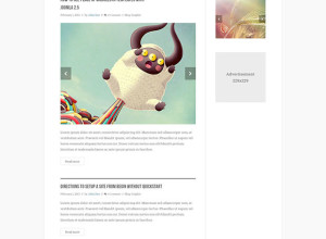 Free-PSD-Blog-Template