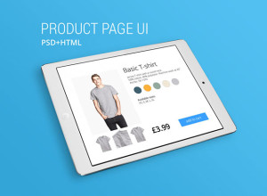 Free-PSD-HTML-Product-page