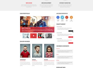 Free-PSD-Joomla-Business-Template