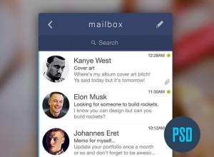 Free-PSD-Mailbox-App