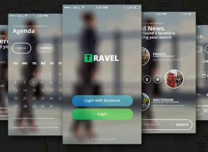 Free-PSD-Travel-App