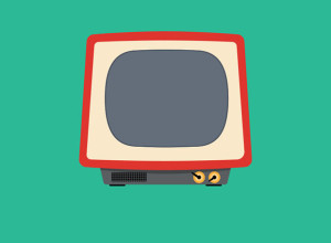 Free-PSD-Tv-Illustration