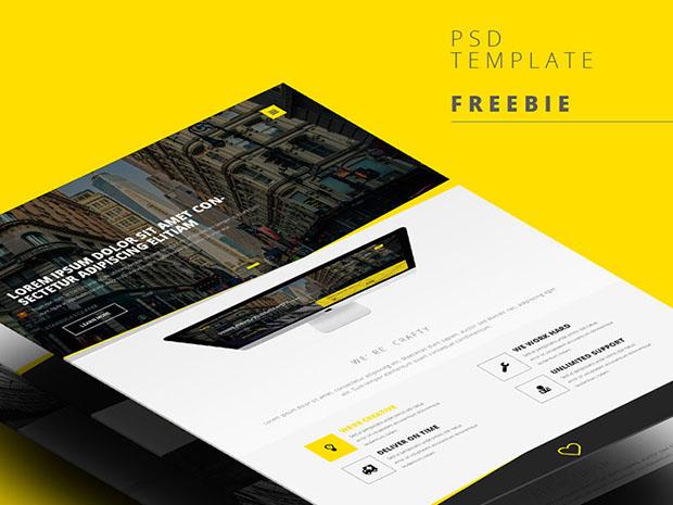 Free-PSD-web-template