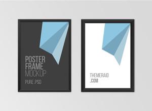 Free-Psd-Poster-Frame-Mockup