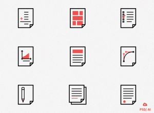 free-set-of-document-icons