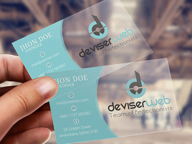 Free-Transparent-Plastic-Business-Card