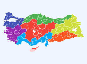 Free-Turkey-Layered-Vector-Map