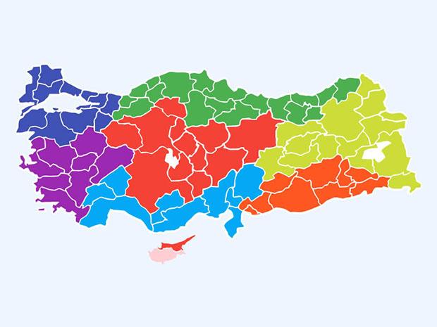 Free-Turkey-Layered-Vector-Map