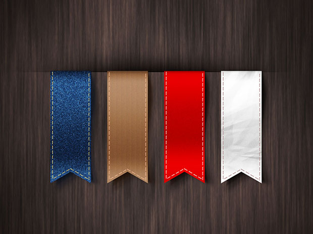 Free-Vertical-Ribbons-Template