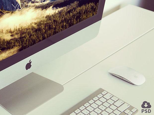 Free-iMac-photorealistic-mockup-set