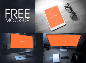 Free-iPad-and-Screen-Mock-up