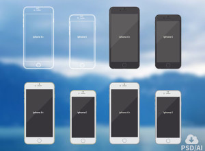 Free-iPhone-6-mockups-vector-illustrations