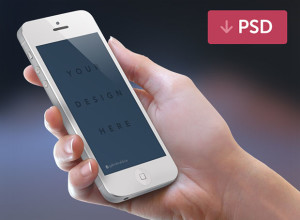 Free-iPhone-Mockup-PSD-White