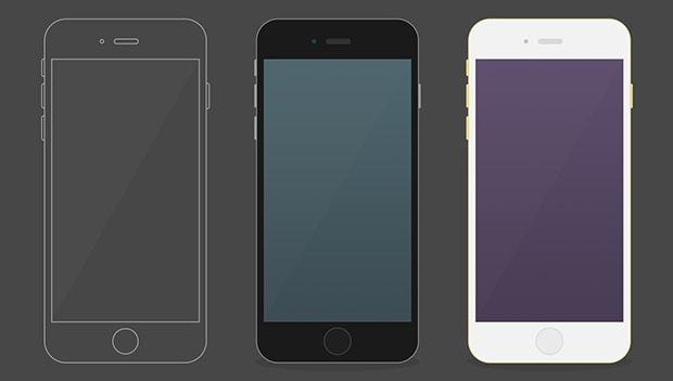 Free-iPhone6-plus-flat-mockup