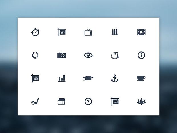 Freebie-20-Vector-Simple-Icons