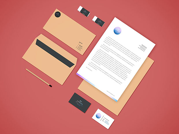 Freebie-Branding-Stationery-Mockup