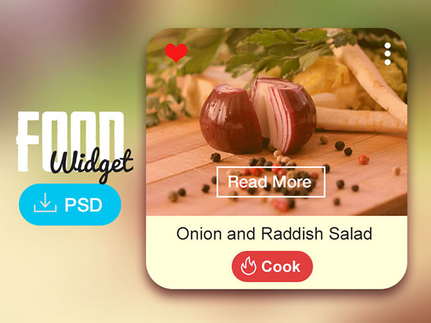 Freebie-Food-Widget